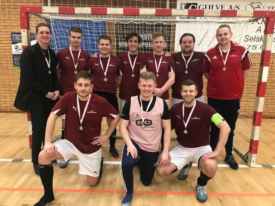 Sølvmedaljerne kom til Aarhus.
