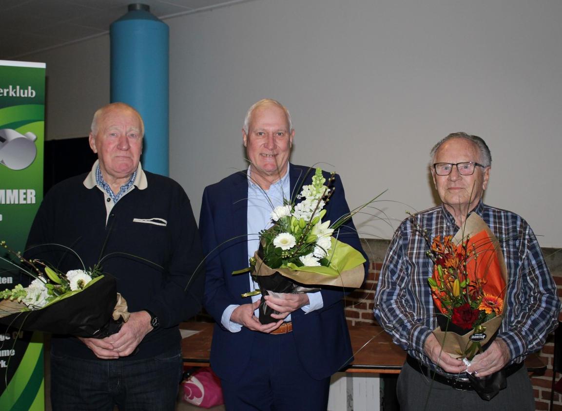50 års jubilarer ved generalforsamlingen 2018