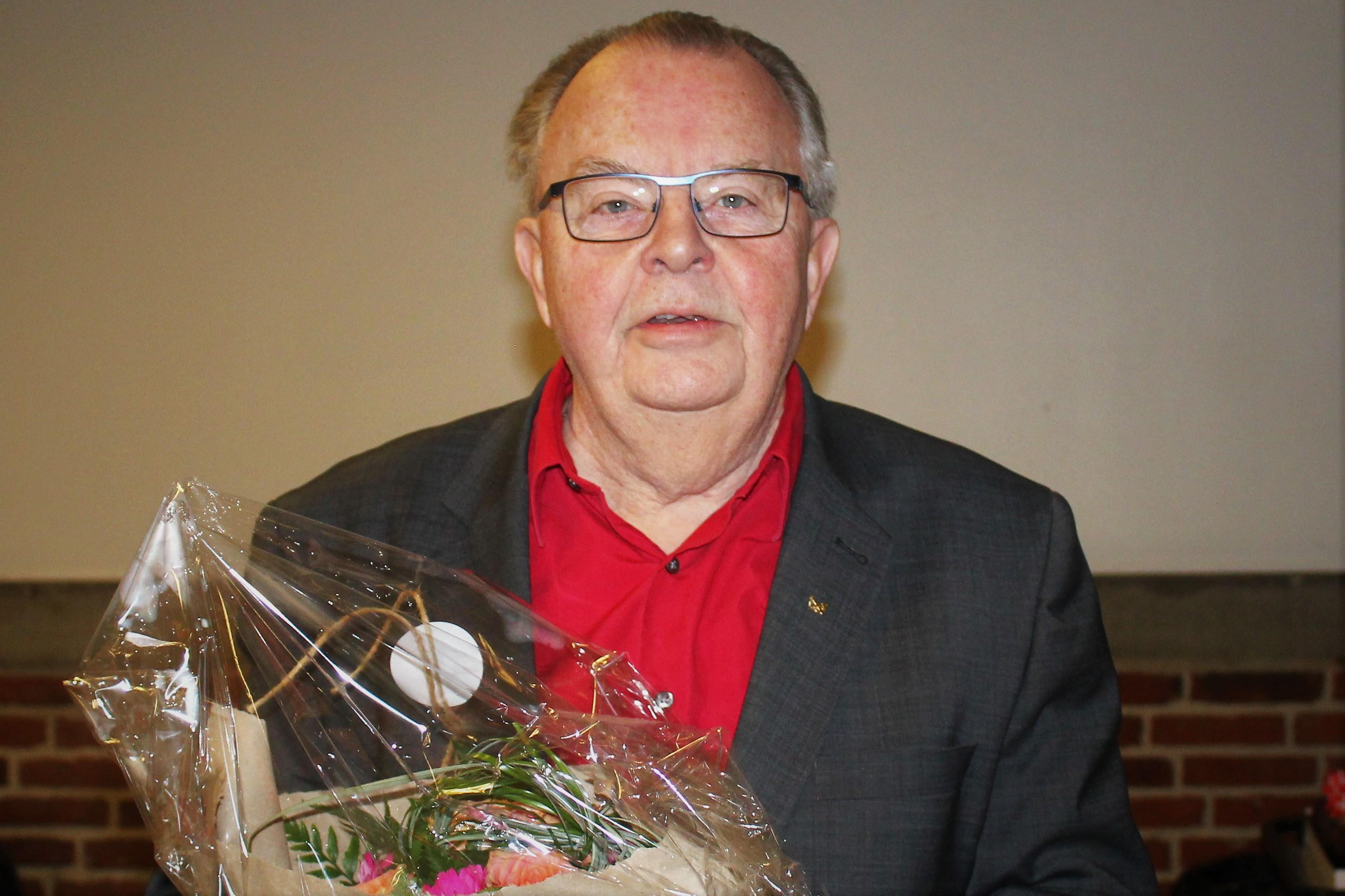 50 års jubilar på generalforsamlingen 2019