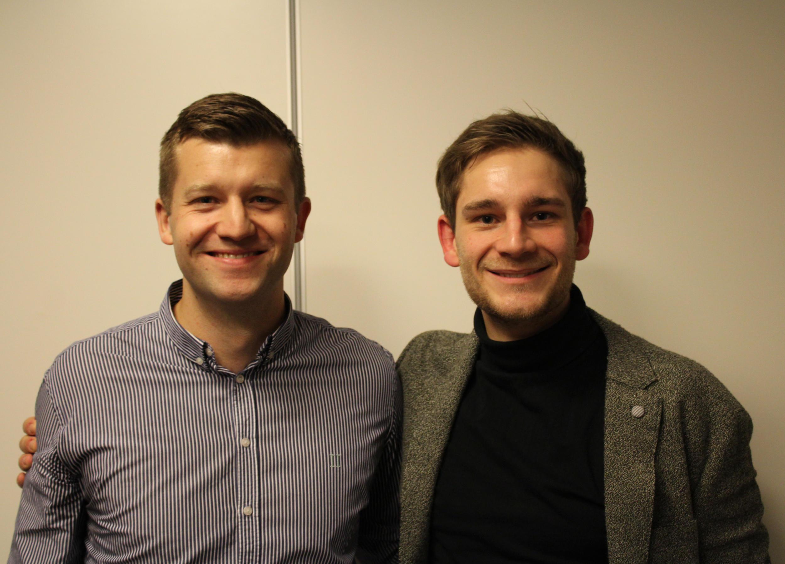 Nils og Rasmus på vej